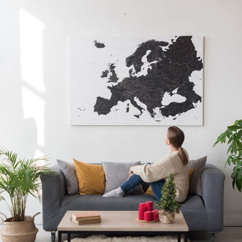 pinnwand europakarte tripmapworld