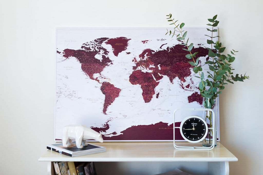 burgund-kolorit-Kunstdruck-auf-Echtholz-Keilrahmen