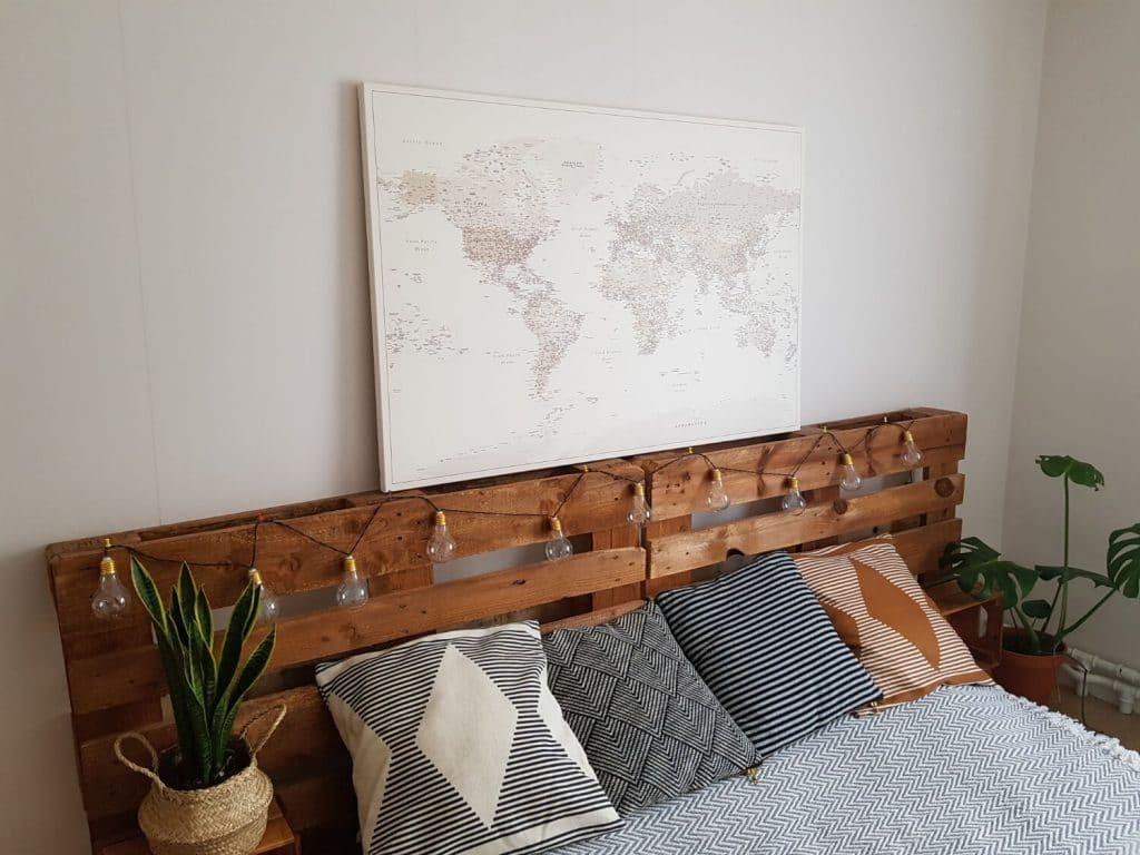 Kunst-Wand-WeltKarte-pinnwand-Wüstensand