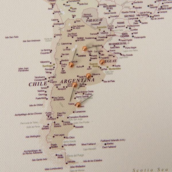 Wüstensand-pinnwand-WeltKarte-zum-markieren