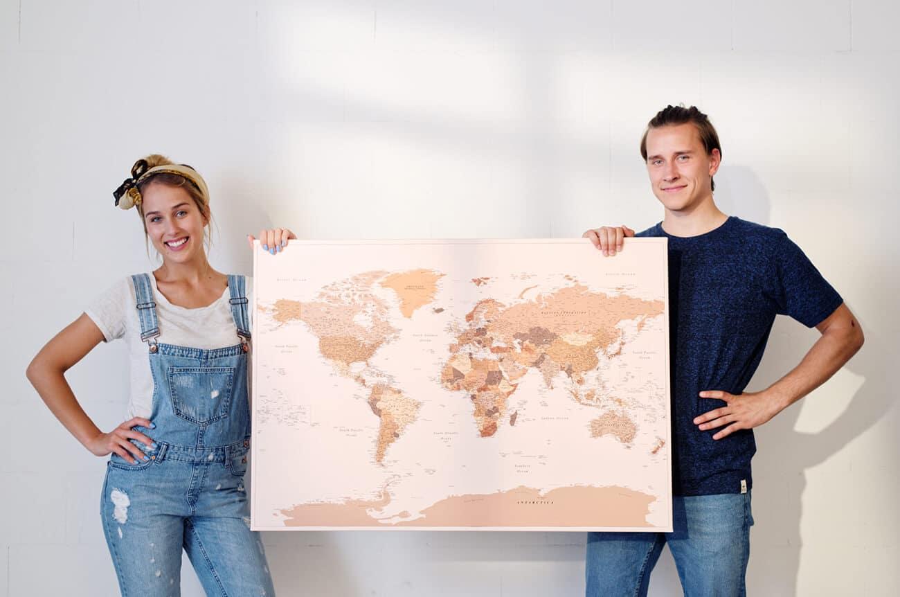 Reisekarte für Paare 6 Dinge, die vor dem Kauf zu beachten sind