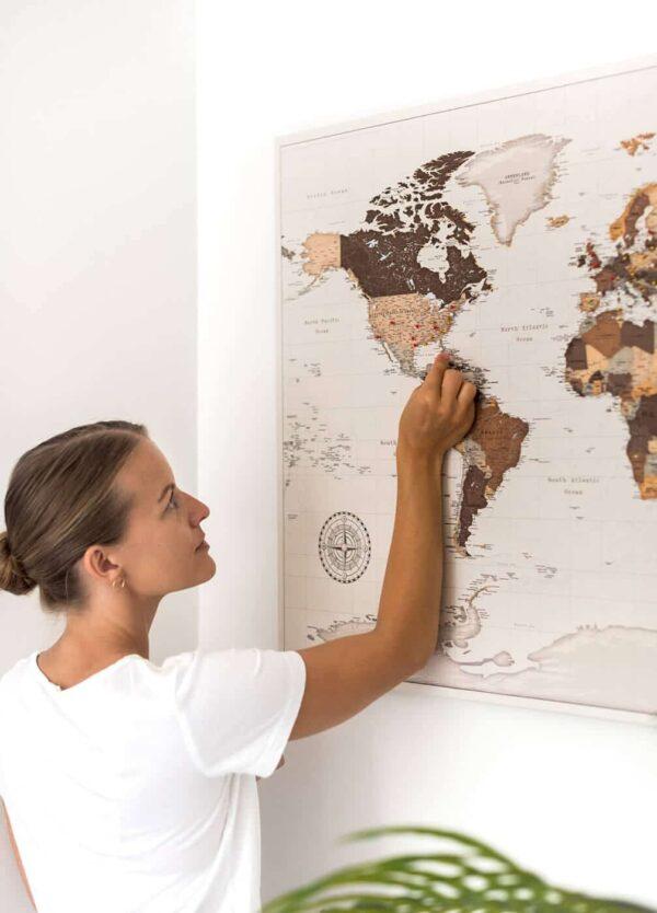 leinwandkarte tripmapworld
