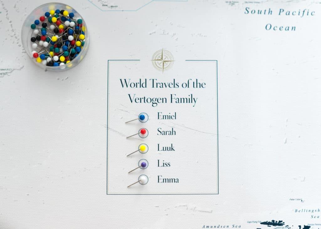Personalisierte Reisekarten Alles was du wissen solltest