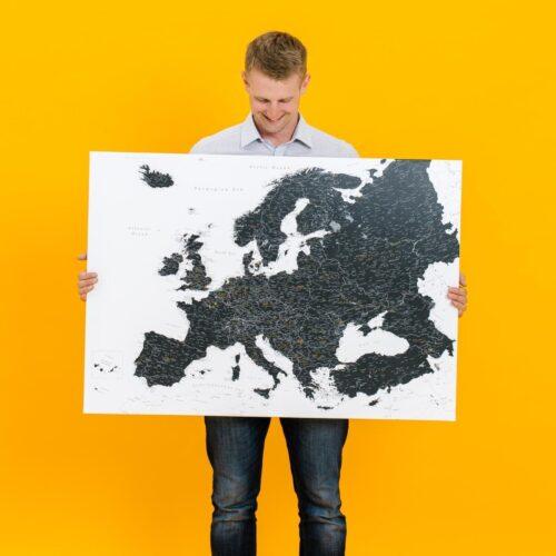 pinnwand europa karte tripmap